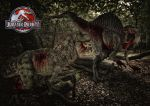 Jurassic Park - Battle Of The Giants by tomzj1
