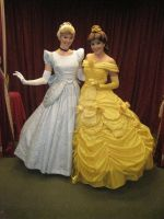 Belle and Cinderella by BellesAngel