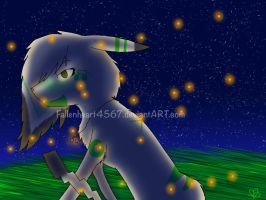 Fireflies .:Pokemon:. by Fallenheart4567