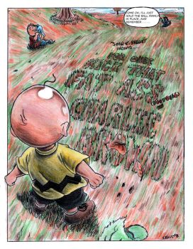 A Charlie Brown Comic Cover by Laborde91