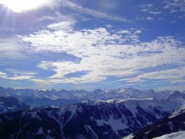 Tyrolean Alps by Willihelm