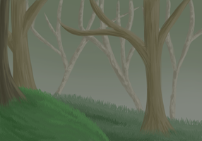 Background Practice by CursedFire