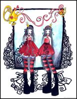 Alice Twins by ball-jointed-Alice