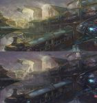Sky City Scene by XiaoBotong