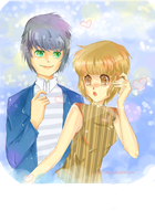 Ashley and Alan - Pairing Request by 5kanae5