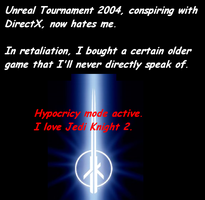 Jedi Outcast, Game of Pwnage by WolfZword