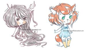 chibibabies by AlexanderPaupoff
