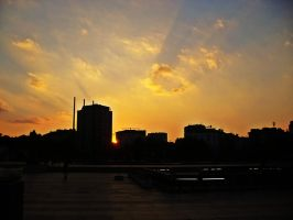 Sunrays of goodbye by kiss1311