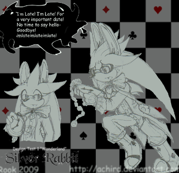 Hurry Hurry:: Silver Rabbit by Achird