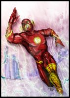 Fastest man by SaintYak