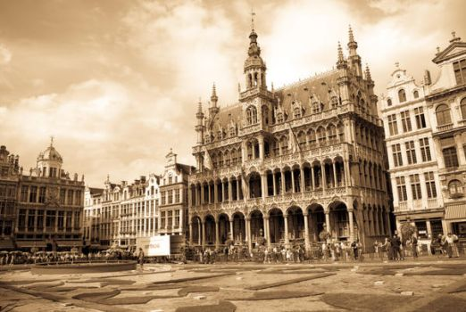 Grand place bruixelles by Norgabel