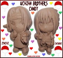 Milk Chocolate Uchiha's by pikabellechu