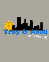 Troy and Abed in the Morning by MightyRain