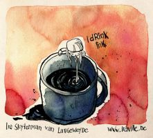 I drink Ink by Iraville