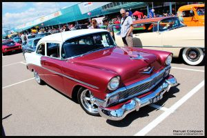1956 Chevy 210 Delray by compaan-art