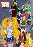 Sailor Moon USA-All Scouts by TRALLT