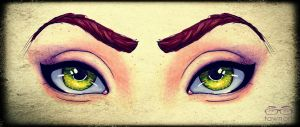 Look Into My Eyes by TawnART