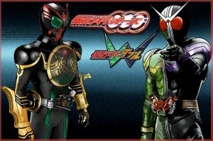 Kamen Rider Double and Triple by Lannytorres