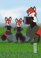 Accordion Lessons by The-Freezer-Fox