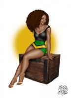 jamaican lovely by KellysDolls