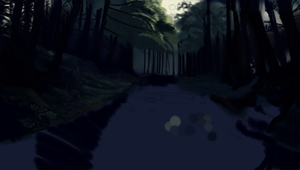 Unfinished scenery by Ethelo