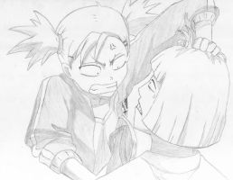 hiyori vs shinji . by JRD92