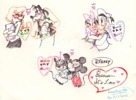 Disney: The Couples by Porn1315