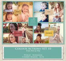 ATP. Color Actions SET 10 by AllThingsPrecious