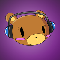 Headphone Bear - Requested by desibear1999 by Blekee