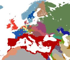 Europe 1550 Europa Universalis 3: Death and Taxes by Claudius42