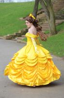 Belle Cosplay by iDisneyx