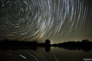 1st Attempt Startrails by droy333