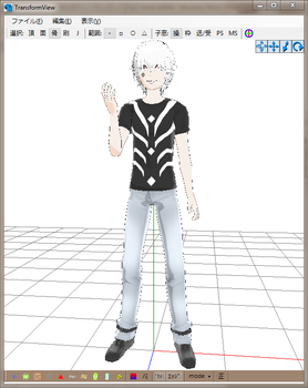 MMD Newcomer Accelerator A by Esdras18