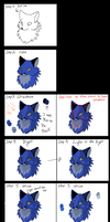 Shiny fur in MSPaint Tutorial by Ash-Dragon-wolf
