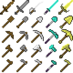 Minecraft Weapons Mod by warp2002