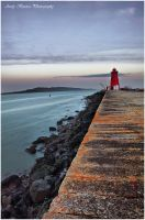 poolbeg lighthouse by baarisa