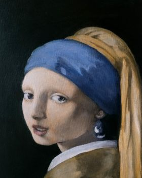 Girl with a pearl earring fourth color glaze by BlazeDev86