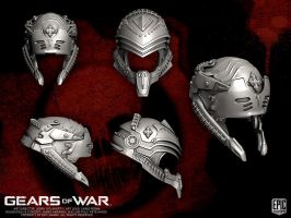 Gears of War Locust Helmets by YemYam