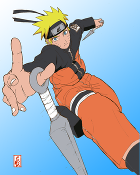Naruto WIP by umbreontbh