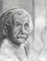 Portrait exercise - Einstein by Mordred-87