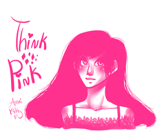Think Pink by Amai-Kitty
