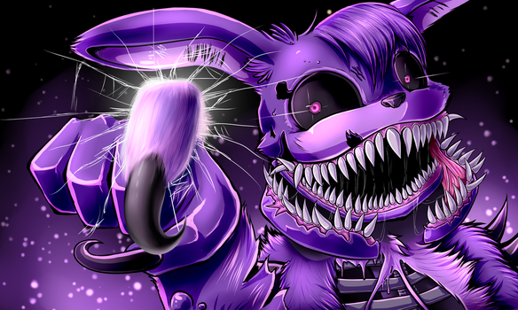 Twisted Bonnie (with speedpaint) by Fluffy-Ravens