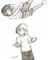 Toss by yaoilovefilledperson