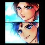Magi - Aladdin and Morgiana Timeskip by cheeryY