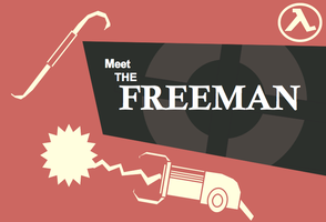 Meet the Freeman Red by JediArtisan