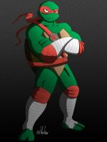 Raph Next Mutation - Color by evilsherbear
