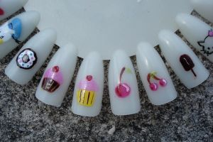 Nail Art by MotherMayIjewelry