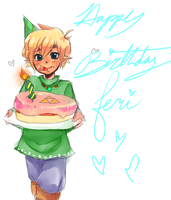 Happy birthday, Feri! by GoddessHylia