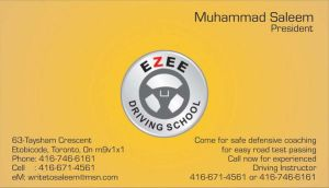 visitng card ezee by aa3