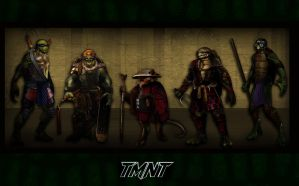 live tmnt concept art by rainingcrow